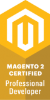 Magento Professional Developer certified logo